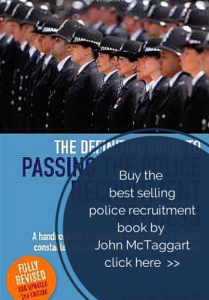Buy the police recruitment book on Amazon